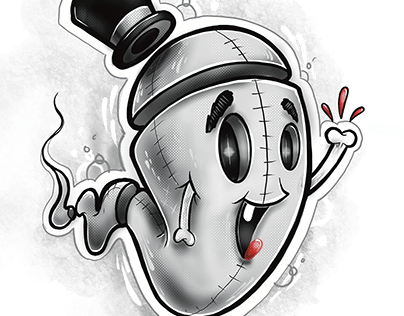 Boo the friendly Ghost