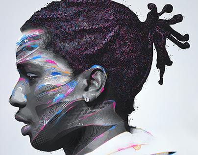 Hip Hop Abstract Vectors