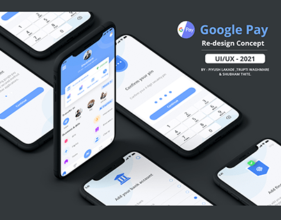 GOOGLE PAY - UI/UX - REDESIGN CONCEPT - 2021