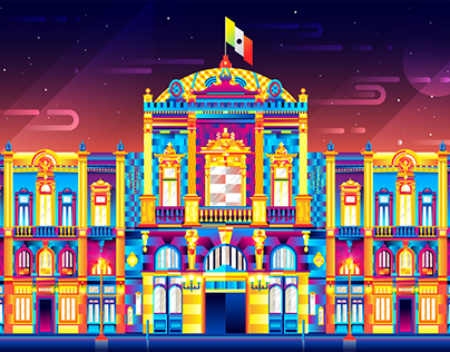 MÉXICO arquitectura y monumentos V