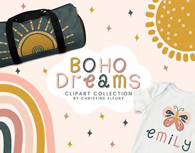 Boho Dreams Clipart