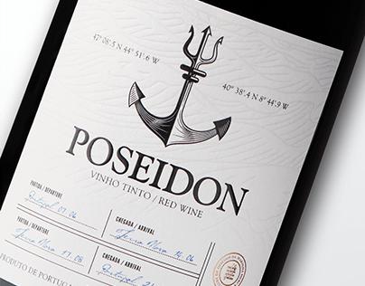 Poseidon Wine Branding