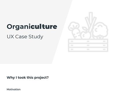 Organic farming - UX Case study