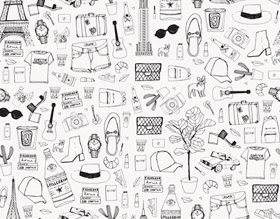 Coveteur Brand Illustration and Product Design