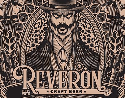 Reverón Craft Beer Label
