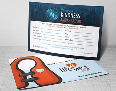 Kindness Ambassador Sign Up Card