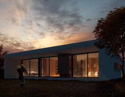3D Exterior Architecture Post-Production