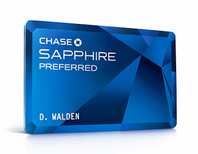 Chase Sapphire Card Design
