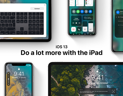 iOS 13 - Do a lot more with the iPad