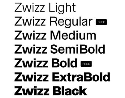 Zwizz™ Free Font