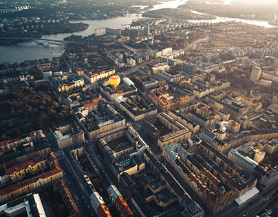 Stockholm From Above