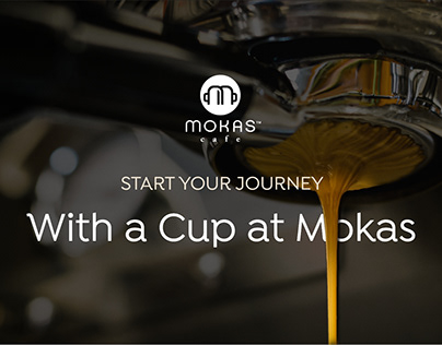 Mokas Cafe Website redesign