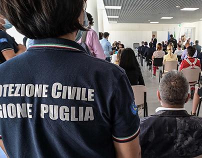 Reportage nuova sede Protezione Civile