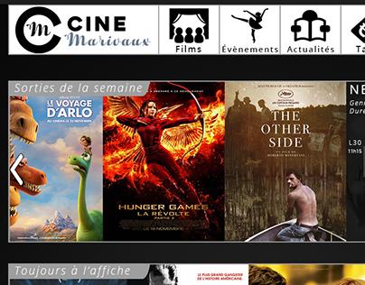 Refonte du site webdu Cinémarivaux