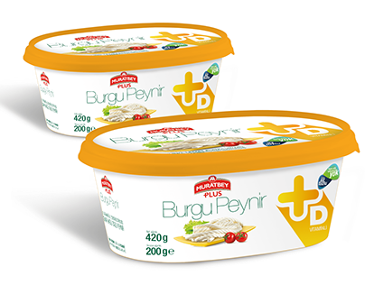 Muratbey Plus Cheese Package Design
