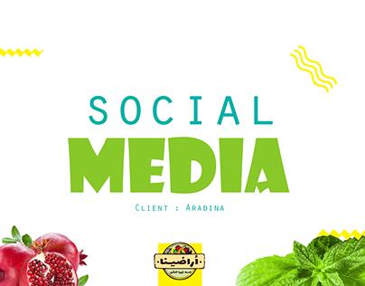 Aradina | Social media posts