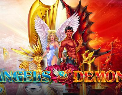 "Online slot machine ""Angels & Demons"""
