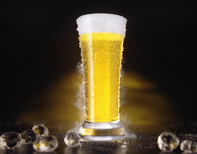 Beer Glass Pour X-Particles