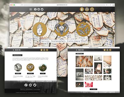 Parshin Pourmozafari Photography - Website Design