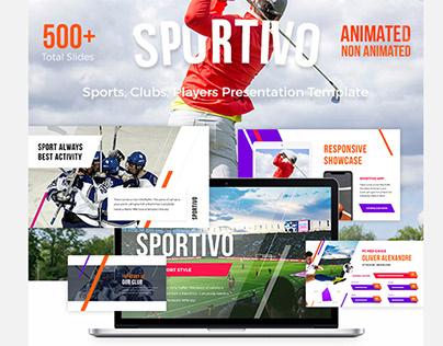Modern Sports Presentation