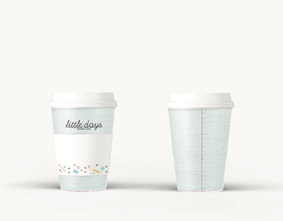 Coffee Shop logotype and pictogram design