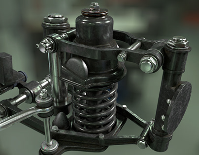 modeled and rendered with cinema 4d