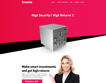 Investo – HYIP Template