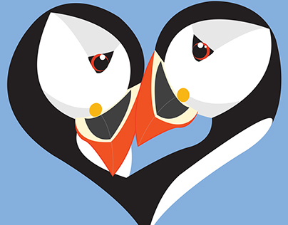 Together Forever - Puffin Love