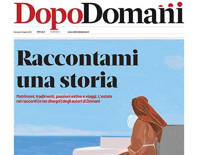 Estate (Cover for Domani Editoriale) 15 Aug 2021, Rome