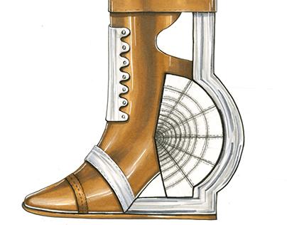 19th Century Inspired Boot