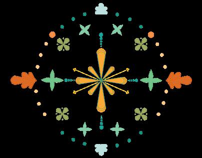 Mandalas em Flor | Ombro do mar