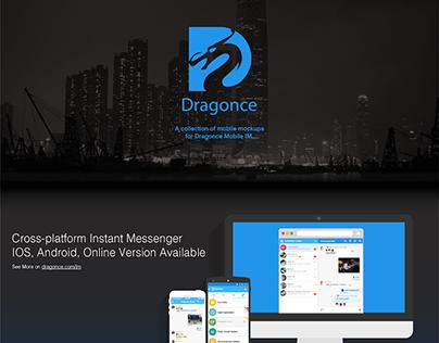 Dragonce Business Messaging App Design