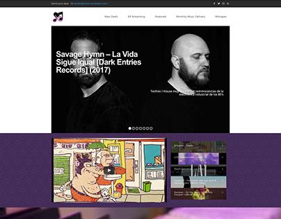 MyMusicDealer Website
