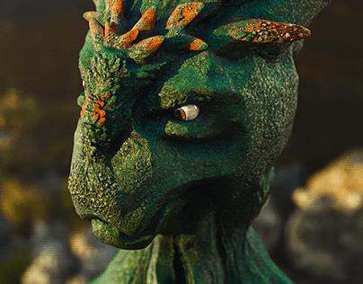 kepler living organism [zbrush, maya, arnold]