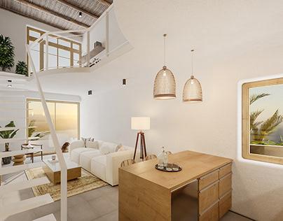 Renovated Seaview Villa, Mykonos, Greece
