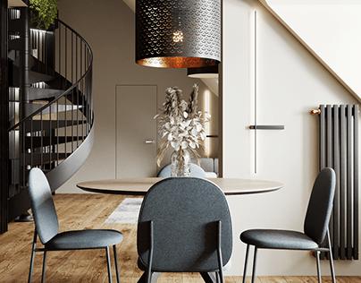 Дизайн интерьера квартиры 142 м кв г. Санкт-Петербург