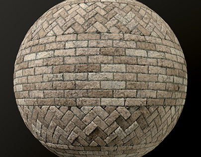 Stone paving material