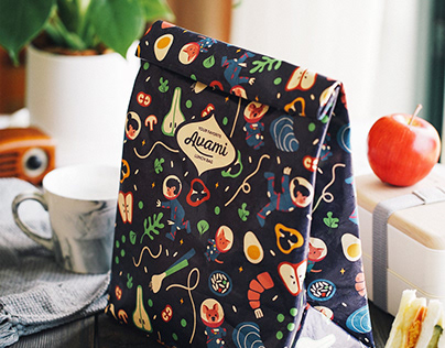 AVAMI Lunch Bag Branding & Packaging