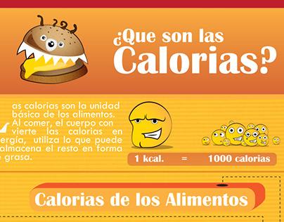 infografica Calorias