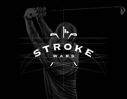 Logo design and Website design - Stroke Wars