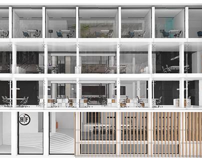 Reconstruction/ Interior Design competition | Hemofarm