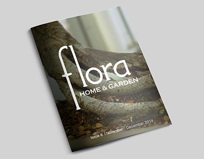 Flora Home and Garden Catalogue Design