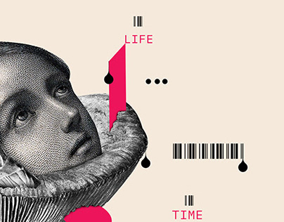 Space & time | Collage serie 007