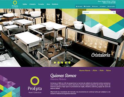 Proepta E-commerce - Prestashop Theme UI