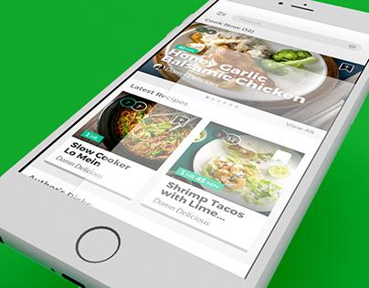 Cooklist App UI
