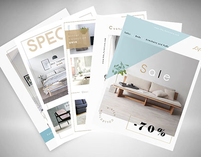 Postcard Flyers Furniture
