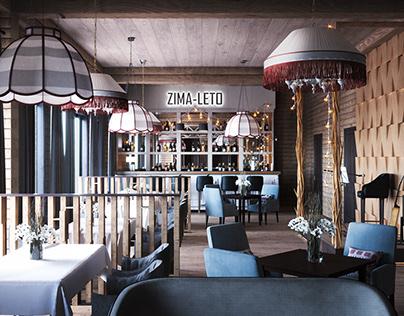 CGI:Restaurant in Sheregesh