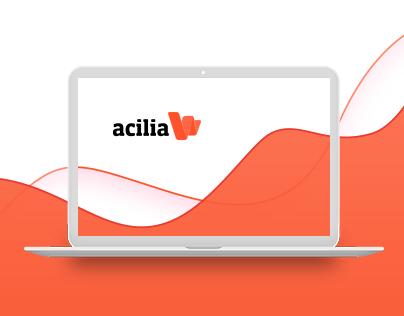 Acilia Landing Page