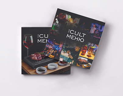 "Menu for restaurant ""The Cult"""