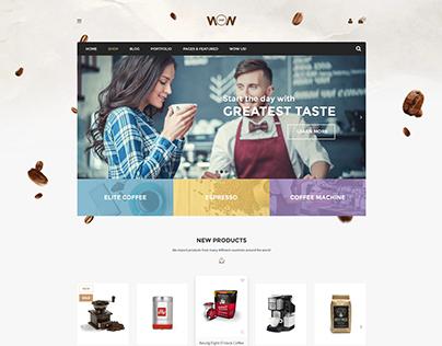 Wow Coffee - Premium Shopify Theme